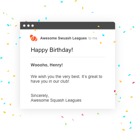sportyHQ Happy Birthday to you