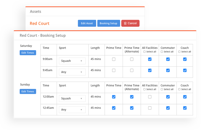 sportyHQ Online court and room bookings